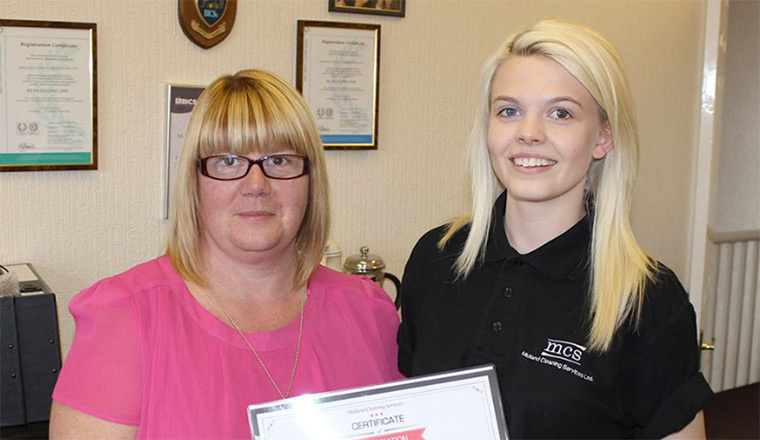 Employee of the quarter - Daidie Mayo